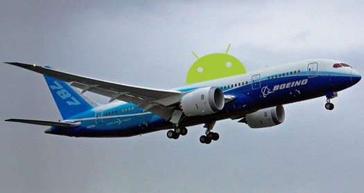 Boeing and Android Collaboration